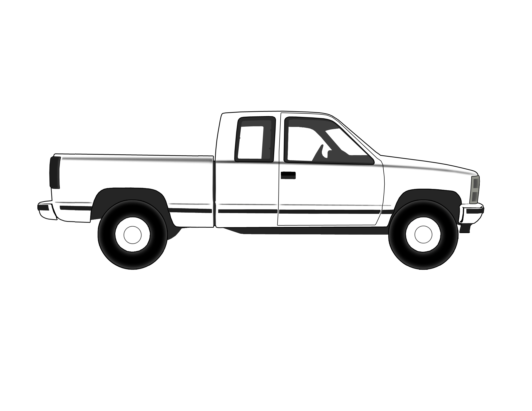 Vehicle Outlines 181502 on 94 chevy 1500 lifted