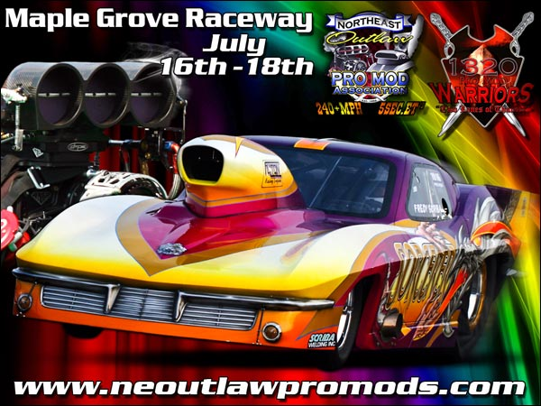 Northeast Outlaw Pro Mods At The Grove