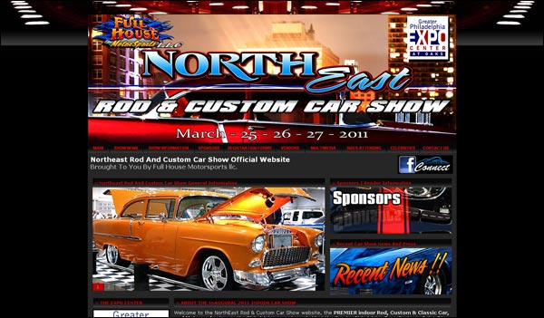 The Northeast Rod & Custom Car Show Official Website