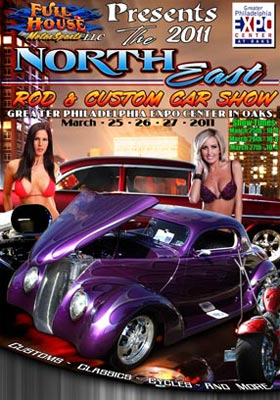 Northeast Custom Car Show Flyer Design With Jessica Barton