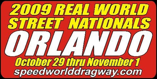 The Orlando Real World Street Nationals Website Newly Released by goDragRacing and WTF Web Design