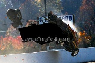 Raceway Park Crash Sequence