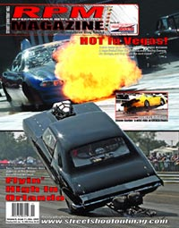 Orlando Speed World Dragway Cover Shot RPM Magazine