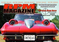 Full Cover Shot For RPM Magazine